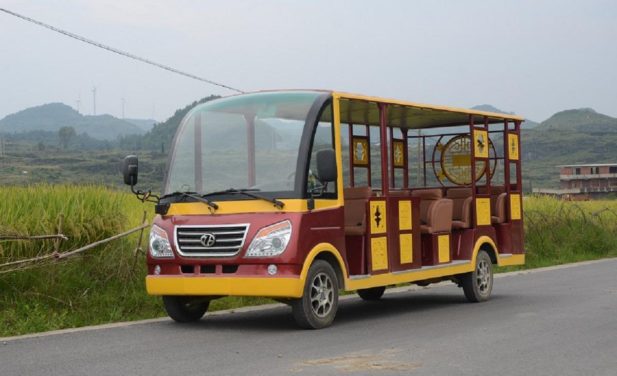 燃油观光车